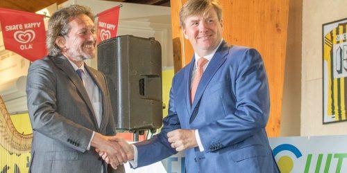 Willem Alexander en Pim Koenen